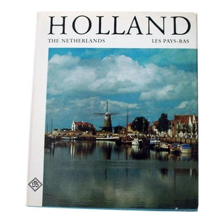 1960s Holland Photography Book For Sale