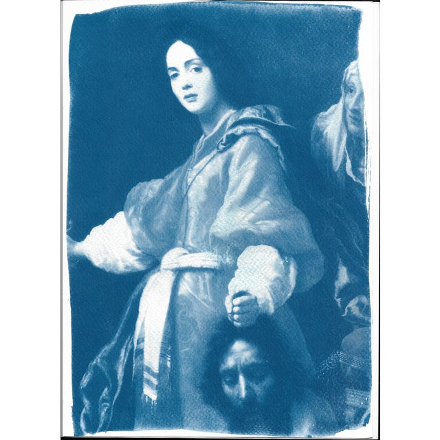 Painting of Judith Cyanotype Print - Image 4 of 5
