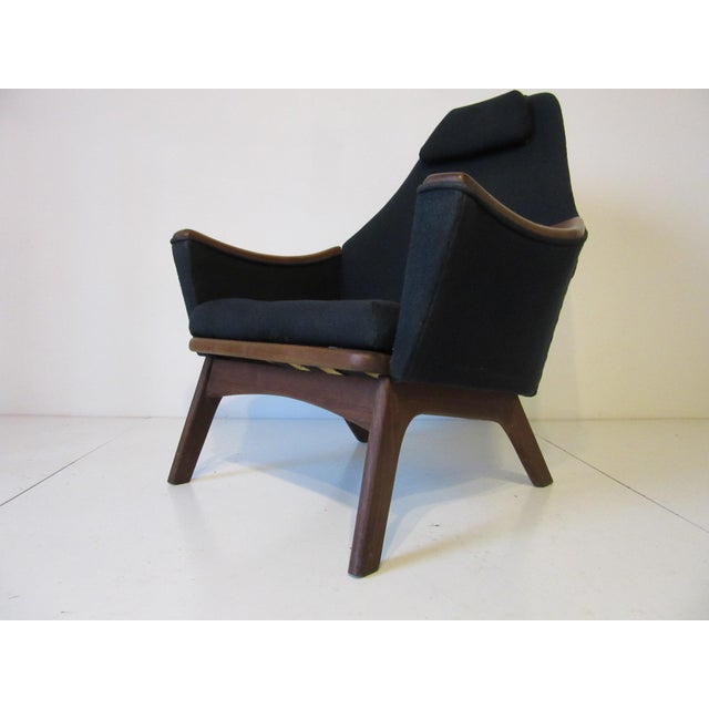 1960s Adrian Pearsall Upholstered Lounge Chair For Sale - Image 9 of 10