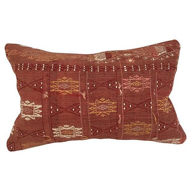 Handmade Brown Turkish Cici Pillow - Image 1 of 5