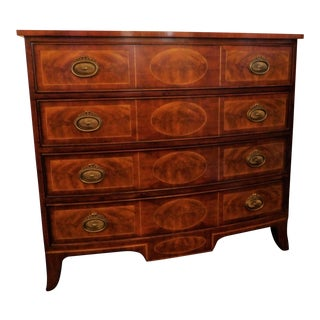 Theodore Alexander Four Drawer Chest For Sale