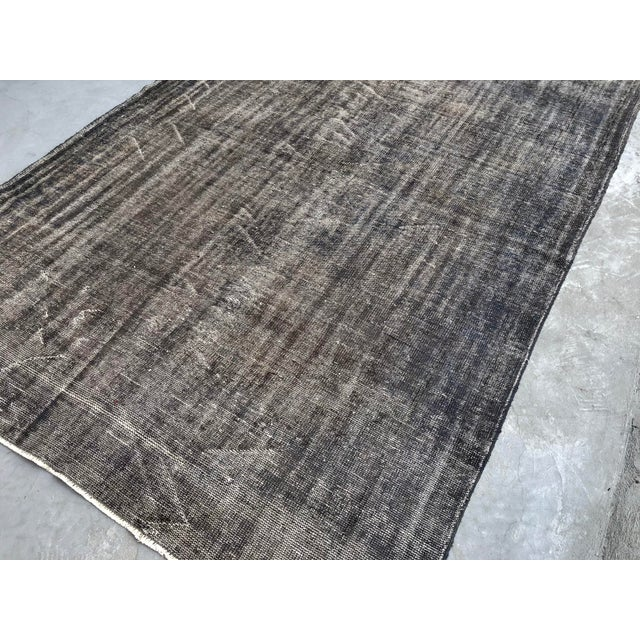 Vintage Anatolian Distressed Rug For Sale - Image 6 of 10
