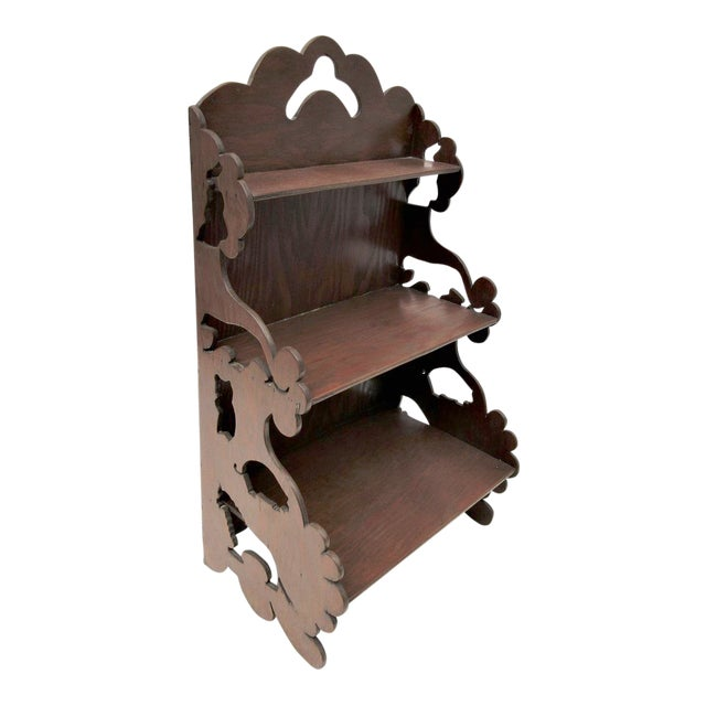 Wooden Tiered Display Shelf - Image 1 of 9