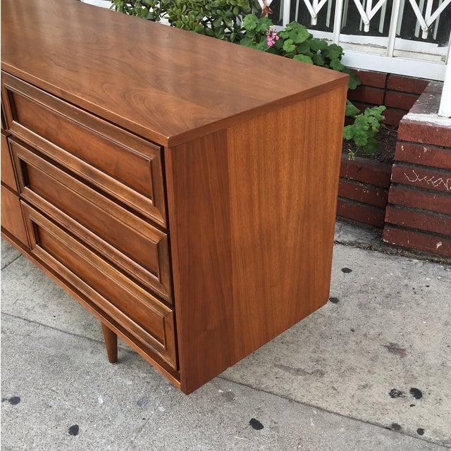 Vintage Walnut Dresser - Image 4 of 6