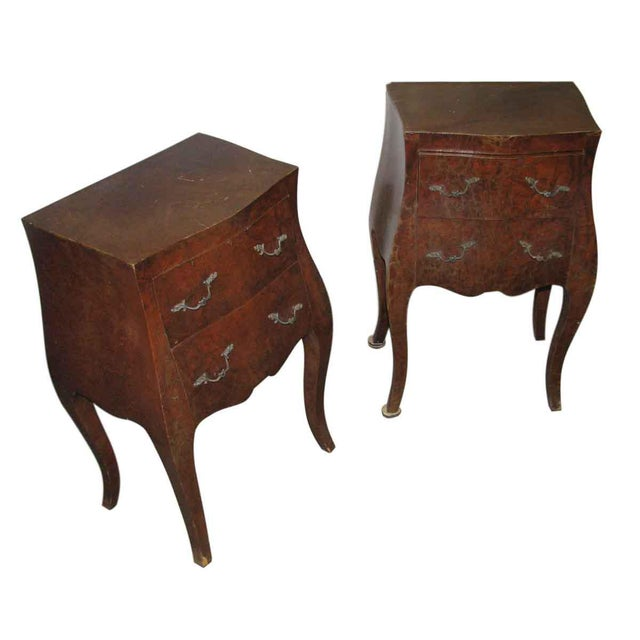 Empire Bed Side Tables - A Pair For Sale - Image 5 of 9