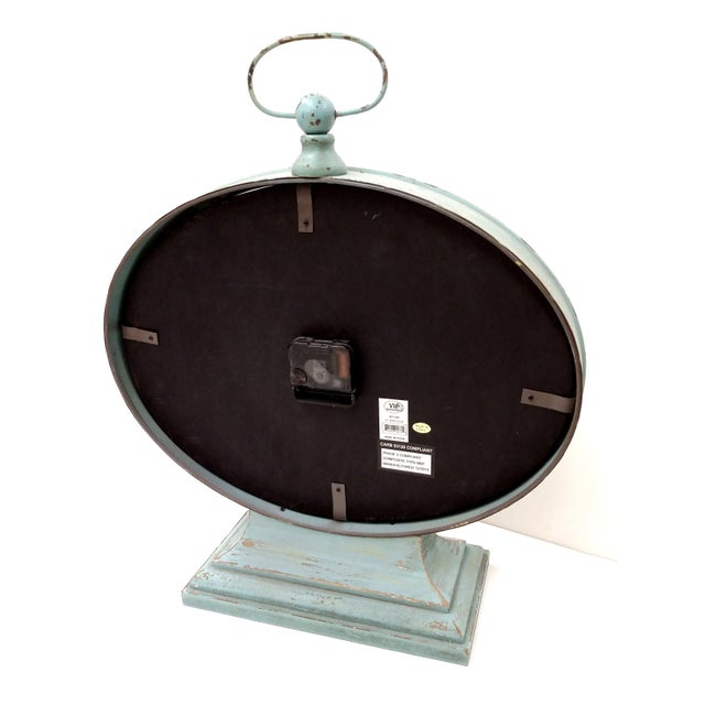 New Large Vintage-Style Mantel Clock For Sale - Image 7 of 9