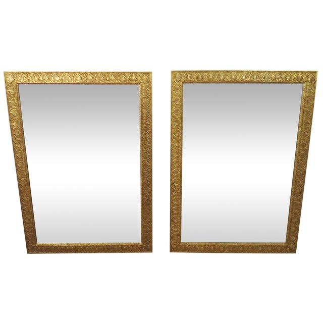 Mirror Fair New York Empire Mirrors - a Pair - Image 1 of 10