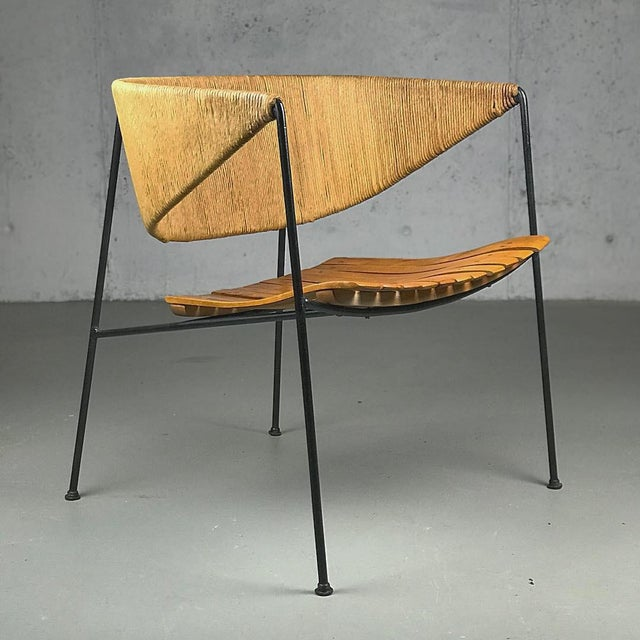 Exceptional 1950's Mid Century Modern Lounge Chair by Arthur Umanoff for Shaver Howard & Raymor For Sale - Image 13 of 13