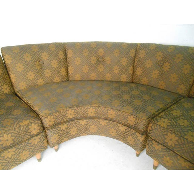 Mid-Century Modern Three Piece Sectional Sofa - Image 8 of 8