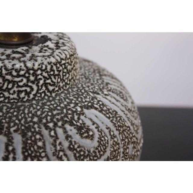 Design Technics Textured Ceramic Table Lamp - Image 7 of 7