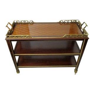 Henredon Natchez Tea/Bar Cart 3 Tier For Sale