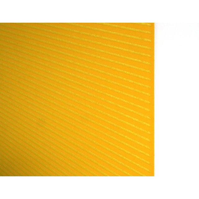 Artist: Richard Anuszkiewicz, American (1930 - ) Title: Spring Suite (Yellow with Yellow) Year: 1979 Medium: Intaglio...