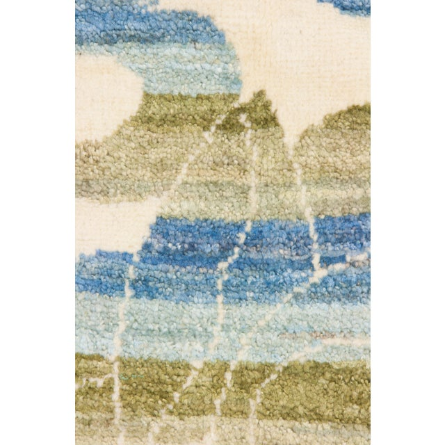 """New Arts & Crafts Hand Knotted Area Rug - 4'2"""" x 6'3"""" - Image 3 of 3"""