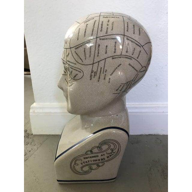 L. N. Fowler Phrenology Bust - Image 3 of 6