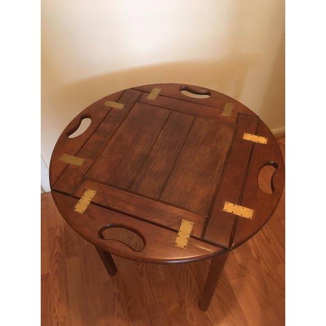 Mid-Century Modern 20th Century Bombay Butler Tray Table For Sale - Image 3 of 13