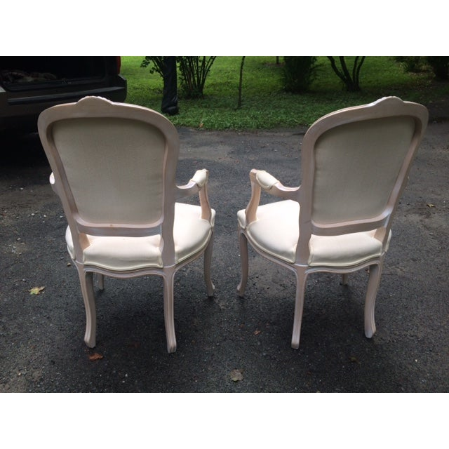French Provincial Armchairs - A Pair - Image 5 of 6