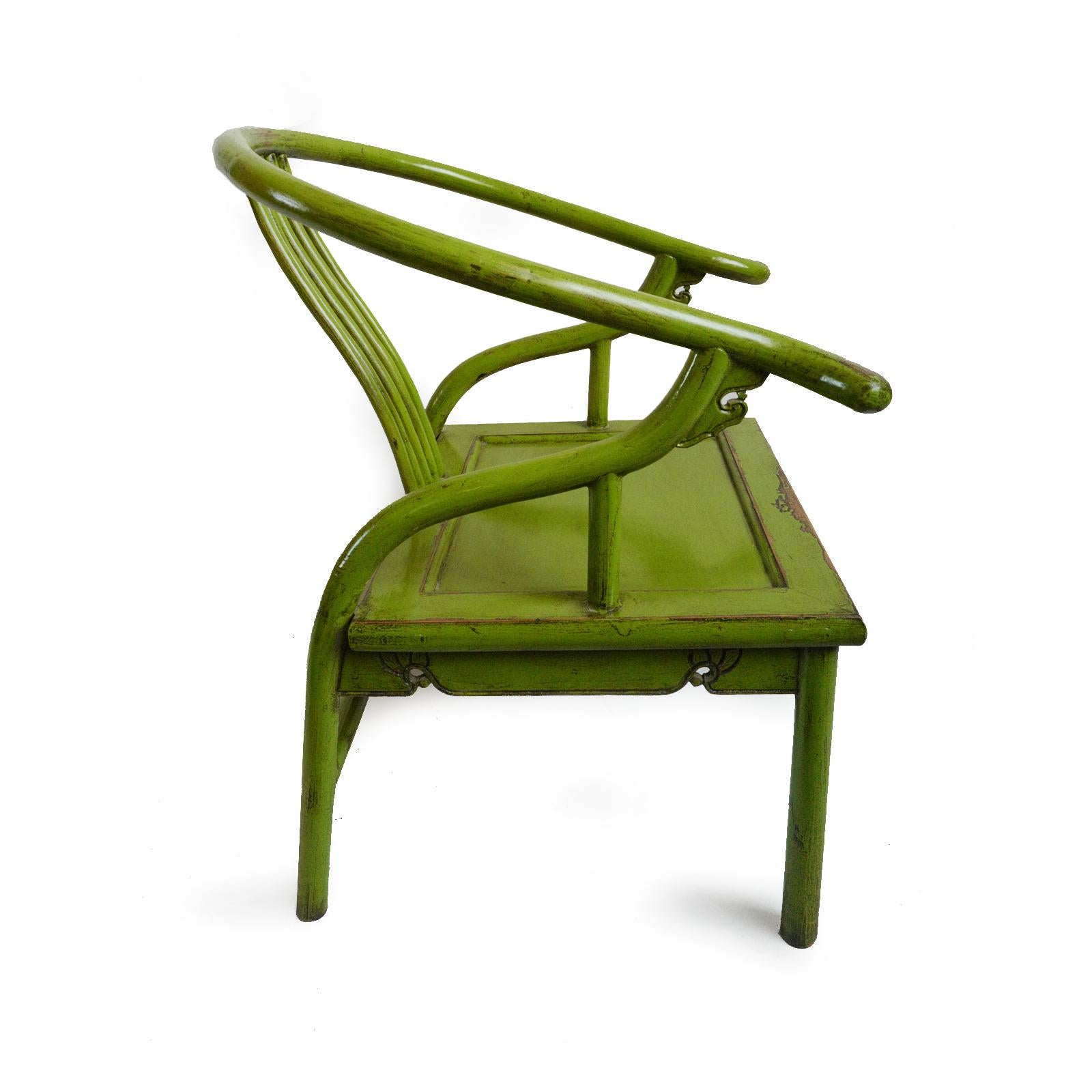 Asian Green Ming Chair For Sale   Image 3 Of 5