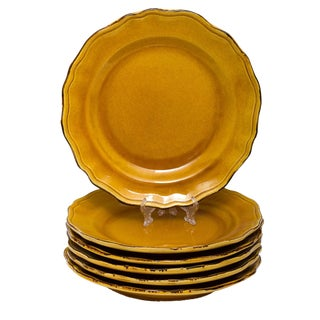 Terre E Provence Earthenware French Dinner Plates - Set of 6