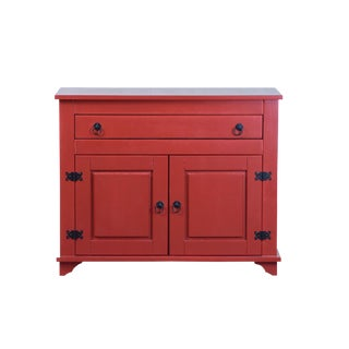 Lisa 2 Door Red Cabinet Sideboard
