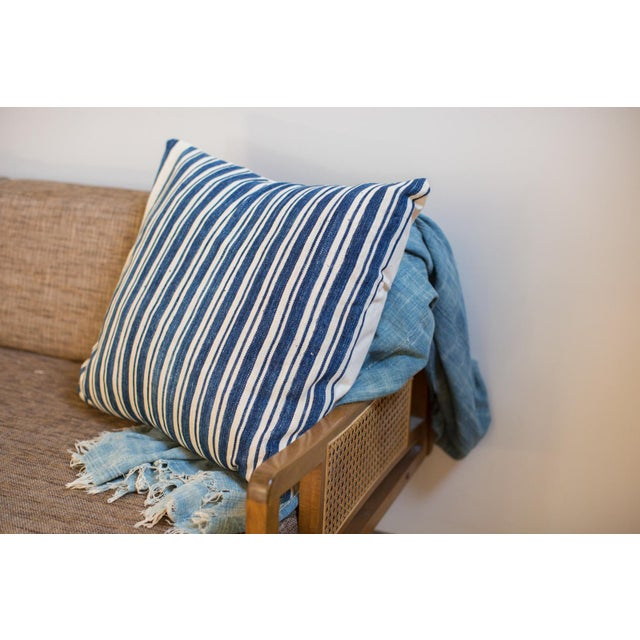 Oversize Indigo Blue Pillow - Image 4 of 6