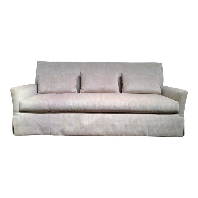 RJones Charleston Skirted Sofa For Sale