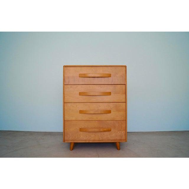 1930s Mid-Century Modern Heywood Wakefield Dresser For Sale - Image 13 of 13