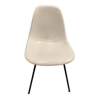 Herman Miller Fiber Glass Shell Chair on H-Base For Sale