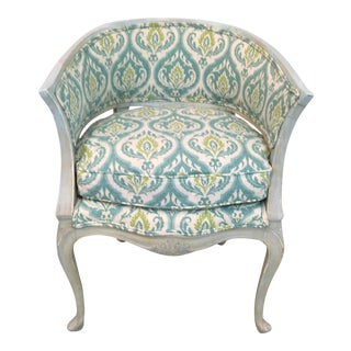 Italian Painted Arm Chair For Sale