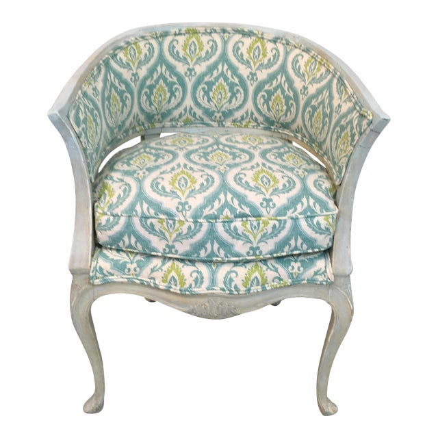 Image of Italian Painted Arm Chair