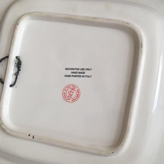 1980s 1980s Vintage Vietri Decorative Platters - A Pair For Sale - Image 5 of 7