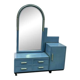 Modernist Art Deco Vanity For Sale