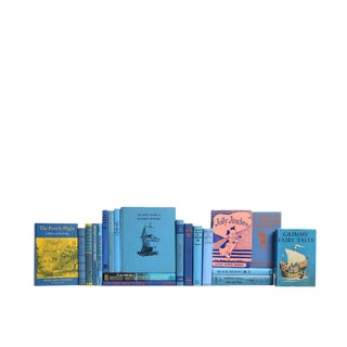 Bright Blue Stories for Kids: Set of Twenty Decorative Books