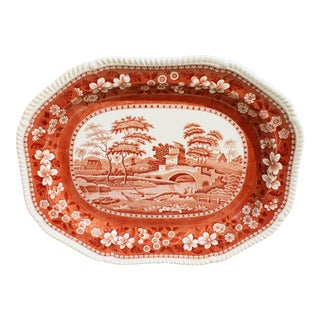 Spode's Tower Platter For Sale