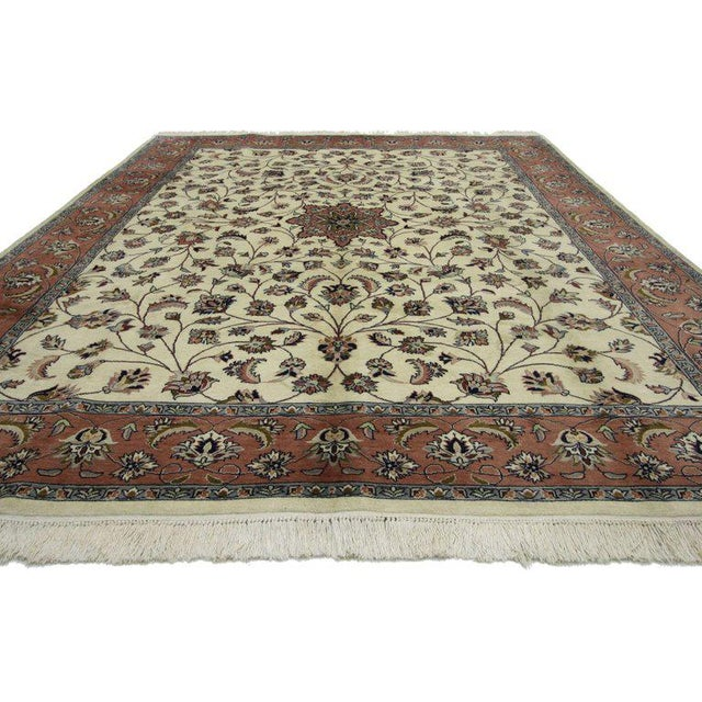 Contemporary Persian Style Rug With Traditional Style - 7′10″ × 10′3″ For Sale - Image 4 of 6
