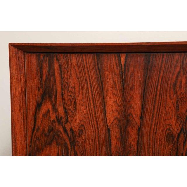 Wood Italian Mid Century Wood Bar/Media Cabinet For Sale - Image 7 of 11