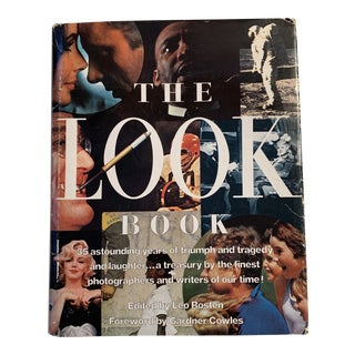 """Vintage """"The Look Book"""" Cocktail Table Book For Sale"""