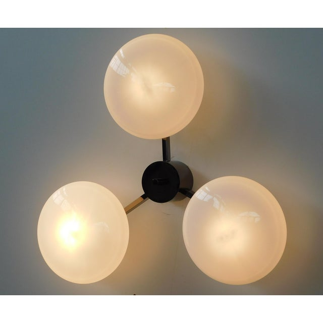 Tre Flush Mount by Fabio Ltd For Sale In Palm Springs - Image 6 of 10