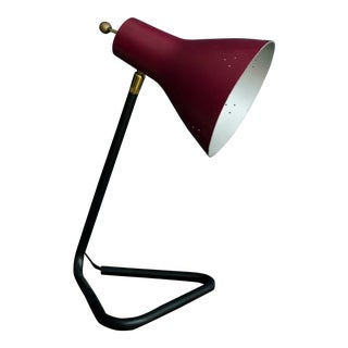 1960s Mid-Century Italian Table Lamp For Sale