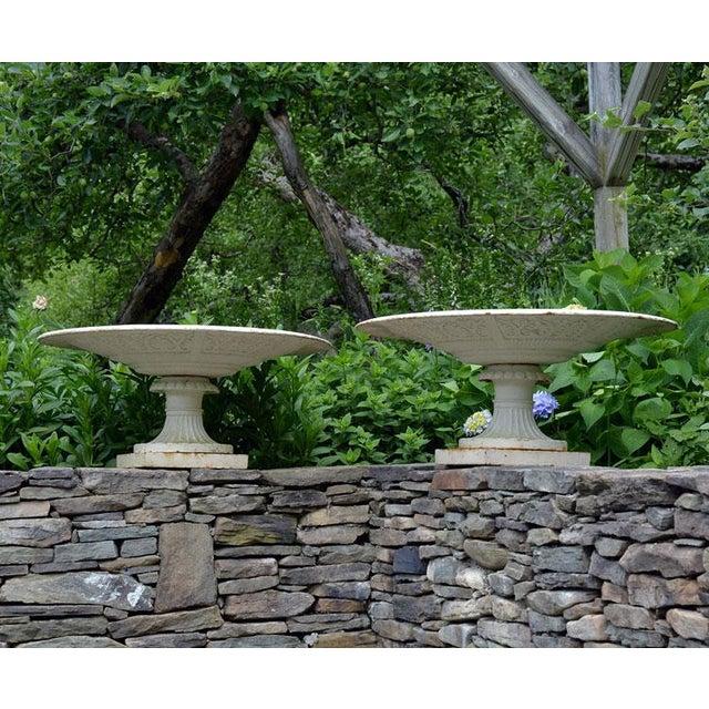 Stylish Cast-Iron Urns - Image 8 of 9