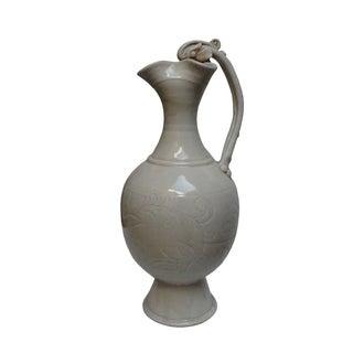 Chinese White Porcelain Flower Vase Preview