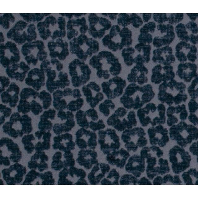 Contemporary Kiribati Twilight Animal Cheetah Fabric Pillows - a Pair For Sale - Image 4 of 5