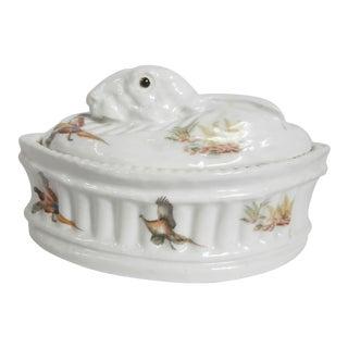 Porcelain Hare Tureen