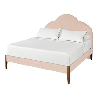 The Crown Bed - King - Kate - Como, Blush For Sale