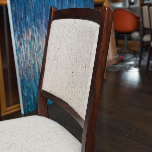 Skovby Møbelfabrik A/S Set of Ten Skovby Rosewood Upholstered Dining Chairs For Sale - Image 4 of 9