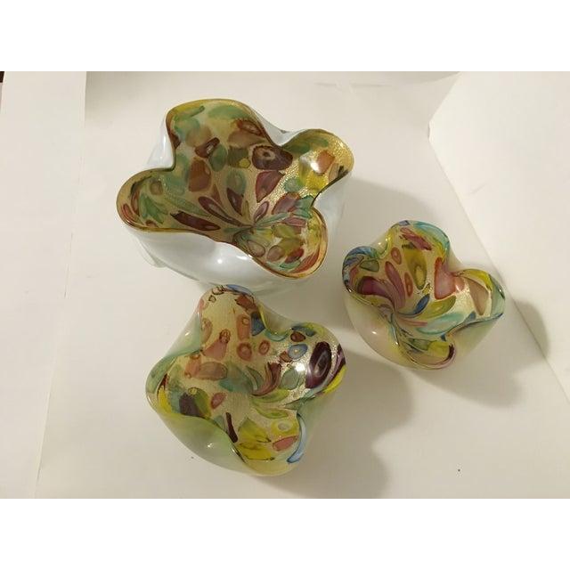 Vintage Murano Art Glass Italian Nut Dishes - 3 - Image 2 of 9
