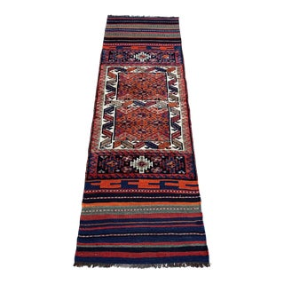 Vintage Kilim Runner-2′5″ × 8′5″ For Sale
