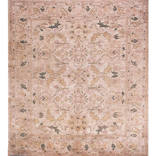 """Mansour Superb Quality Handwoven Agra Rug - 8'1"""" X 9'8"""" For Sale"""