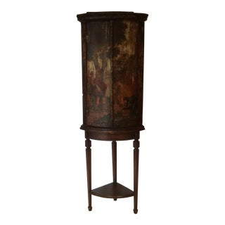 Early 18th Century Painted Corner Cabinet