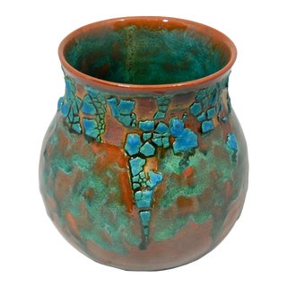 Fowler Ceramic Vessel by Andrew Wilder For Sale