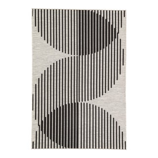 Nikki Chu by Jaipur Living Tangra Indoor/ Outdoor Geometric Area Rug - 5′3″ × 7′6″ For Sale